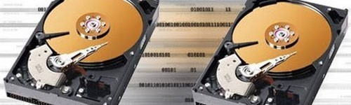 Копирование данных на HDD